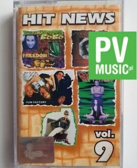 HIT NEWS vol.9 FUN FACTORY, RYTMICA audio cassette