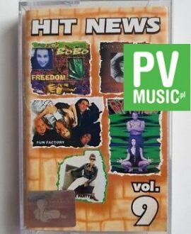 HIT NEWS vol.9 FUN FACTORY, RYTMICA audio cassette