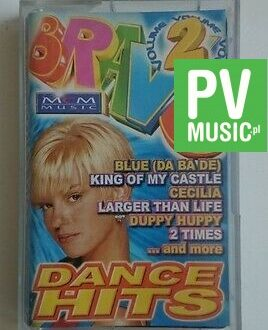 DANCE HITS  BLUE, KING OF MY CASTLE audio cassette