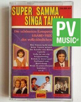 SUPER SAMMA, SINGA TAMMA audio cassette