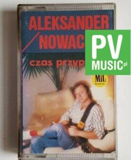 ALEKSANDER NOWACKI CZAS PRZYPŁYWU audio cassette