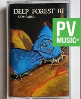 DEEP FOREST WORLD MIX audio cassette