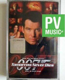 007 TOMORROW NEVER DIES SOUNDTRACK audio cassette