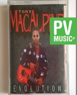 TONY MACALPINE EVOLUTION audio cassette