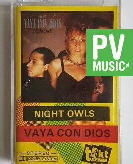 VAYA CON DIOS NIGHT OWLS audio cassette