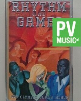 RHYTM OF THE GAMES  1996 OLYMPIC GAMES ALBUM  audio cassette