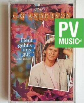 G.G. ANDERSON HEUT' GEHTS' UNS GUT audio cassette