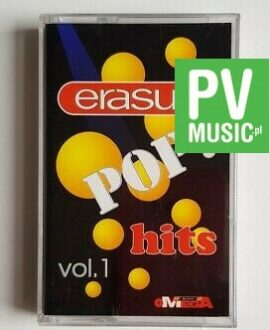 ERASURE POP HITS vol.1 audio cassette