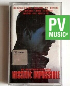 MISSION : IMPOSSIBLE SOUNDTRACK audio cassette