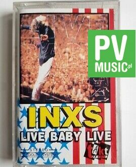 INXS LIVE BABY LIVE audio cassette