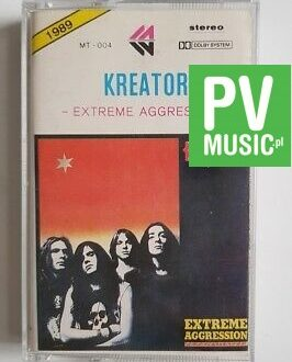 KREATOR EXTREME AGGRESSION audio cassette