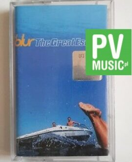 BLUR THE GREAT ESCAPE audio cassette