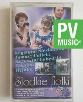 SŁODKIE FIOŁKI CALICKI, ŁABĘDZKI.. audio cassette