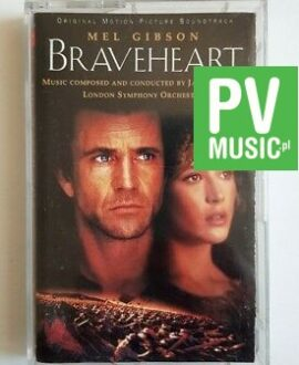 BRAVEHEART SOUNDTRACK audio cassette