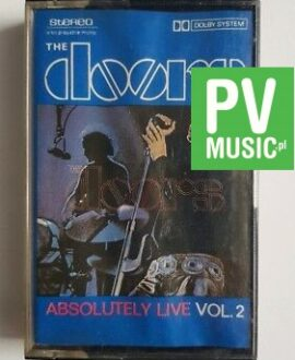 THE DOORS ABSOLUTELY LIVE vol.2 audio cassette