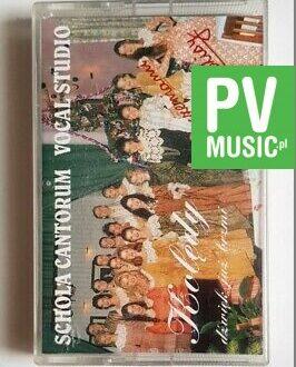 SCHOLA CANTORIUM KOLĘDY audio cassette
