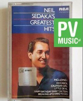 NEIL SEDAKA'S GREATEST HITS audio cassette