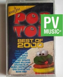 POP TOP BEST OF 2000 BRITNEY SPEARS, GIGI D'AGOSTINO...audio cassette
