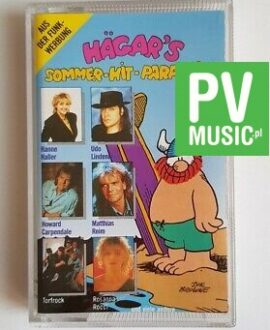 HAGAR'S SOMMER-HIT-PARADE'91 audio cassette
