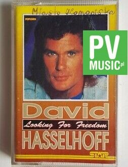 DAVID HASSELHOFF LOOKING FOR A FREEDOM audio cassette