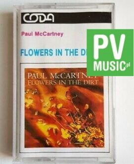 PAUL McCARTNEY FLOWERS IN THE DIRT audio cassette