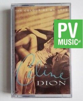 CELINE DION THE COLOUR OF MY LOVE audio cassette