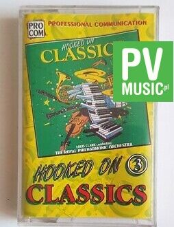 HOOKED ON CLASSICS 3 audio cassette