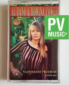 AL BANO & ROMINA POWER NAJWIĘKSZE PRZEBOJE PO POLSKU audio cassette