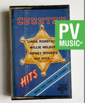COUNTRY HITS KENNY ROGERS, WILLIE NELSON.. audio cassette