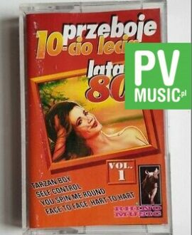 80' HITS TARZAN BOY, SELF CONTROL.. audio cassette