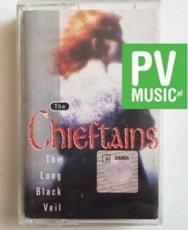 THE CHIEFTAINS THE LONG BLACK VEIL audio cassette