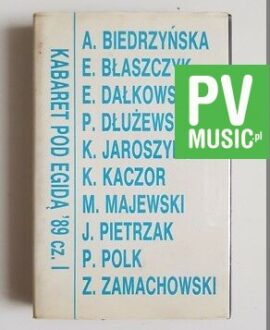 KABARET POD EGIDĄ '89 I audio cassette