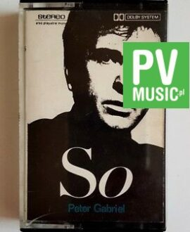 PETER GABRIEL SO audio cassette
