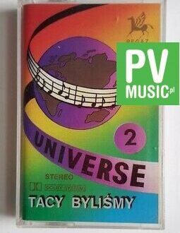 UNIVERSE TACY BYLIŚMY vol.2 audio cassette