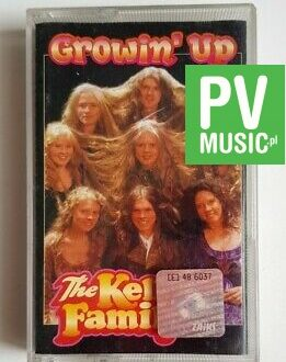 THE KELLY FAMILY GROWIN' UP audio cassette