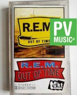 R.E.M. OUT OF TIME audio cassette