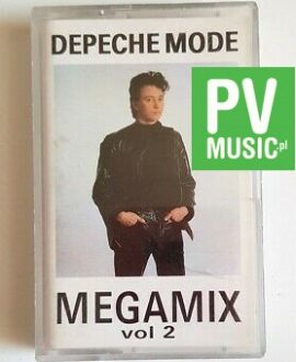 DEPECHE MODE MEGAMIX vol.2 audio cassette