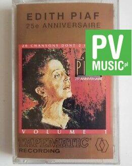 EDITH PIAF 25e ANNIVERSAIRE v.1 audio cassette