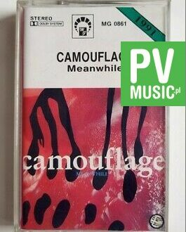 CAMOUFLAGE MEANWHILE audio cassette