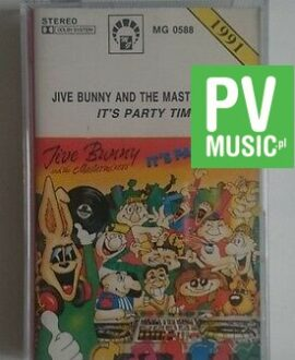 JIVE BUNNY AND THE MASTERMIXERS  IT'S PARTY TIME  audio cassette
