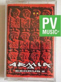 ARMIA EXODUS 2 audio cassette