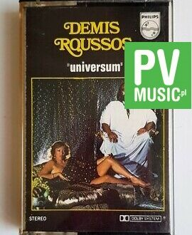 DEMIS ROUSSOS UNIVERSUM audio cassette
