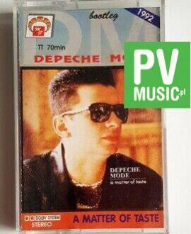 DEPECHE MODE A MATTER OF TASTE audio cassette