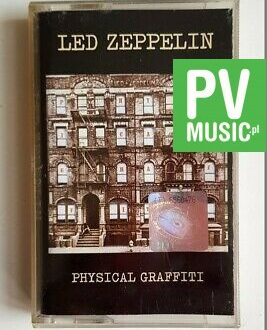 LED ZEPPELIN PHYSICAL GRAFFITI audio cassette