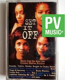 SET IT OFF SOUNDTRACK audio cassette