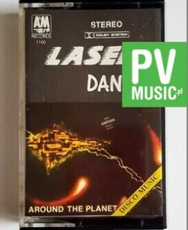 LASER DANCE AROUND THE PLANET audio cassette