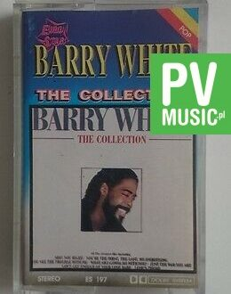 BARRY WHITE  THE COLLECTION    audio cassette