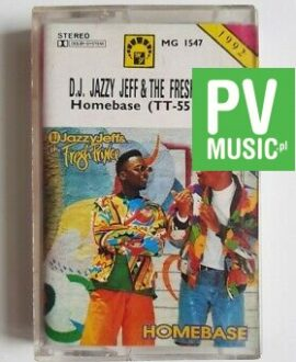 D.J. JAZZY JEFF & FRESH PRINCE HOMEBASE audio cassette