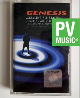 GENESIS ...CALLING ALL STATIONS... audio cassette