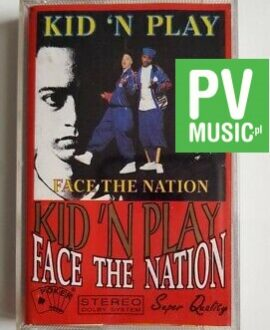 KID 'N PLAY FACE THE NATION audio cassette